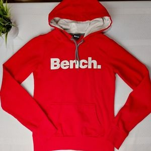 🌼3/$30 Bench Hoodie Sweater Red/White Logo XSmall